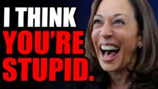 Kamala THINKS YOU'RE STUPID. She Continues To EMBARASS Herself With These Tactics, Many Dont See It