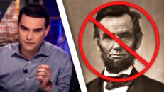 INSANE: Abe Lincoln Scrubbed For Not Proving BLM Support