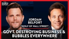 Wolf of Wall St. Secrets & Staying Employed in a Downturn| Jordan Belfort | LIFESTYLE | Rubin Report