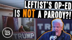 This SHOCKING Op Ed About Trump Supporting Neighbors Is NOT a Joke | The Glenn Beck Show