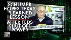 Chuck Schumer Hopes Texas 'Learned Their Lesson' After Feds Shut Off Power