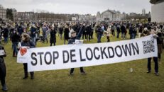 Anti-lockdown Protests And Antifa Riots Erupt In Netherlands