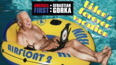 Biden's forever vacation. Conrad Black - AMERICA First with Sebastian Gorka