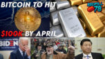 Bitcoin 100k by April??? Silver To The Moon! - RedPill78 The Corruption Detector