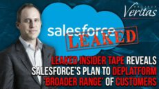 Leaked Insider Tape Reveals Salesforce's Plan to Deplatform 'Broader Range' of Customers