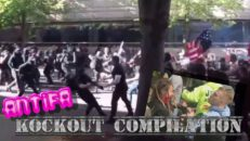 Antifa Knock Out Compilation