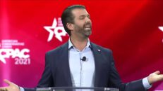 """Donald Trump Jr: """"They Want To Stop Us"""" CPAC 2021 Speech"""