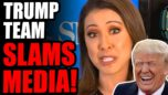 Journalist Left SPEECHLESS! Trump's Team SLAMS THE MEDIA Live On Air In Front Of MILLIONS!!  EPIC!!