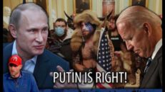Putin SLAMS Biden and the FBI for Persecuting Trump Supporters, and He's Right!