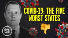The Top Five WORST States in the Nation on COVID 19 Response | Stu Does America