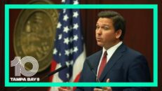 Gov. Ron DeSantis holds a public health roundtable at the Florida State Capitol
