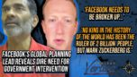 """FB Executive; """"Facebook, Google 'No Longer Companies, They're Countries' And Need To Be Broken up."""