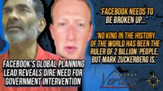 KING ZUCK Facebook Global Planning Lead Reveals Need for Government Intervention