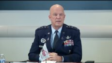 Space Force General John Raymond holds Q&A Virtual Call with Stanford University Students