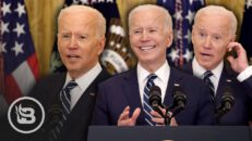 Biden Barely Bumbles His Way Through His 1st Press Conference