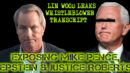 LIN WOOD LEAKS WHISTLEBLOWER TRANSCRIPT EXPOSING VP PENCE, EPSTEIN & JUSTICE ROBERTS