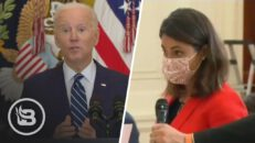 Reporter Comes Straight From Border To Confront Biden on Illegal Immigration DISASTER