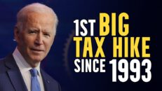 THE DETAILS of the 1st federal tax hike SINCE 1993, thanks to Joe Biden