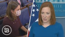 Reporter Confronts Psaki on Hilarious News That Biden May Continue Border Wall