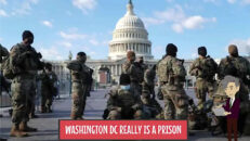 WASHINGTON DC REALLY IS A PRISON -America Amazing Grace 04/11/21