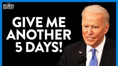 Crowd Stunned as Biden Tries & Fails to Reason with Protesters | DIRECT MESSAGE | Rubin Report
