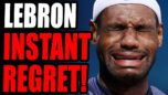 INSTANT REGRET! Lebron James Releases INSANE Tweet Calling For VIOLENCE... This Guy Is A JERK.