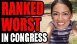 AOC Finishes DEAD LAST In Congress Rankings! Official List Marks Her The MOST INEFFECTIVE Democrat!