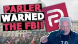 Parler WARNED the FBI about Capitol riot threats...but still got blamed?!