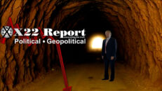 You Are Witnessing The Offensive,They Are Divided,There Is Light At The End Of The Tunnel - X22 Report Ep. 2446b