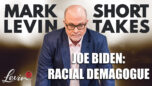 Joe Biden: Racial Demagogue - Mark Levin Show