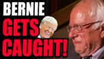 Bernie Sanders CAUGHT OUT As A Fraud! Communist Grifters Are LOSING TRUST, Its Downhill From Here!