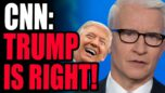 CNN FORCED To Admit Trump WAS RIGHT All Along... Except, Somehow It's Still His Fault..?!?!