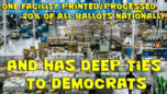 DS Ties To Companies Directly Involved In Elections Will Break Them - On The Fringe