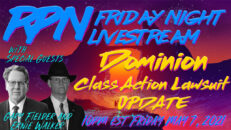 Dominion Class Action Lawsuit Update on Fri. Night Livestream - RedPill78 The Corruption Detector
