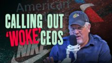 Ad campaign CALLS OUT CEOs for 'cozying up' to WOKE left