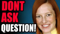 INSANE! Jen Psaki ADMITS Her Job Is To LIE To The American People! This Is Crazy...