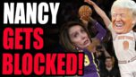 Nancy Pelosi HAS BEEN STOPPED! Major Victory For The GOP Base! EVIL 1/6 Commission THWARTED!