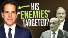 Are Feds targeting Rudy Giuliani, John Solomon for EXPOSING Hunter Biden corruption?