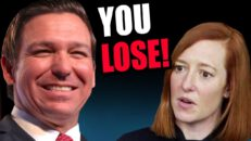 Ron Desantis WINS!! Jen Psaki Forced To CIRCLE BACK & Admit DEFEAT On Coof Messaging!