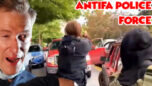 Antifa is Now Removing Motorists From Their Cars at Gunpoint - Salty Cracker