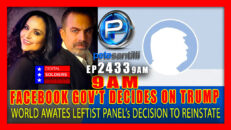 FACEBOOK 'GOVERNMENT' TO ANNOUNCE DECISION TO REINSTATE TRUMP AT 9AM - Pete Santilli Show