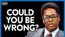 Thomas Sowell Forces Academic to Accept the Reality of Fighting Inequality | DM CLIPS | Rubin Report