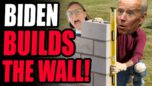 You Wont Believe This... Biden RESUMES CONSTRUCTION Of The Border Wall In The Rio Grande Valley. LOL