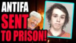 Antifa COMMIE ARSONIST Arrested & SENTENCED To 4 Years For Burning Down Police Precinct! GOOD.