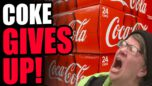 Coke GIVES UP On Woke Politics! WOKE-ISM Is BAD For Business, Leftists LOSE Their Corporate Allies!