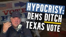 Now it's Texas' turn to face RIDICULOUS voting bill backlash from Democrats