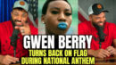 wen Berry Turns Back on Flag During National Anthem - HodgeTwins