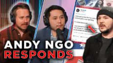 Andy Ngo Responds to Tim Pool Controversy | Guest: Eric July | Ep 163