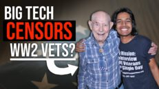 Big Tech now censors the stories of WW2 VETS too?