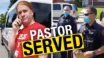 """BREAKING: Pastor Peter Reicher served by police: """"Canada has become communist"""" - Rebel News"""